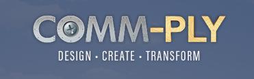 Comm-ply logo